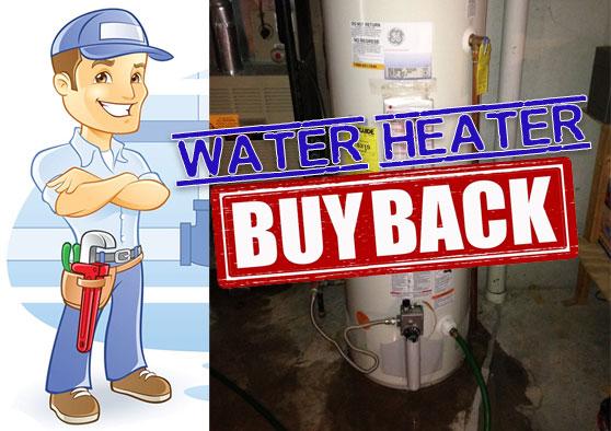 water heater buy back